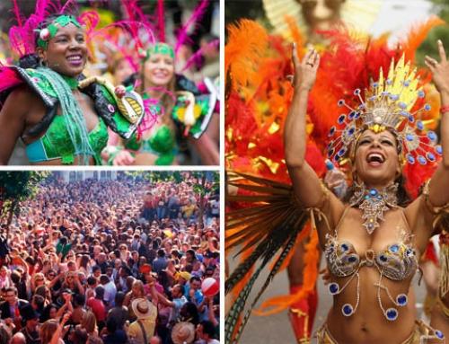 El carnaval de Notting Hill en Londres